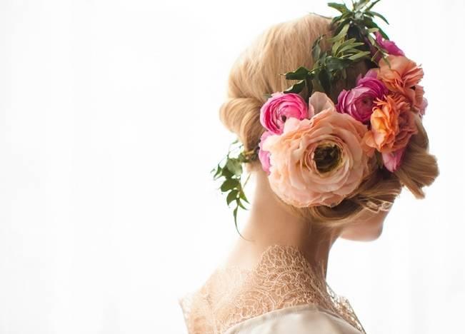 Floral Boudoir Shoot {Natalie Sinisgalli Photography} 4