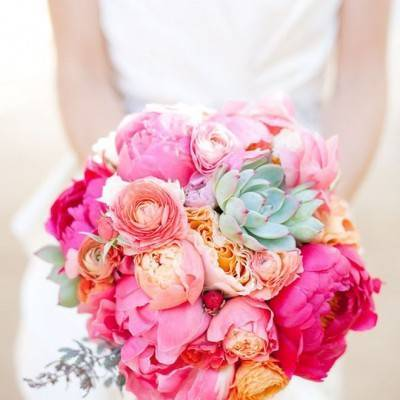 Fuchsia Bouquets to Brighten Your Day!