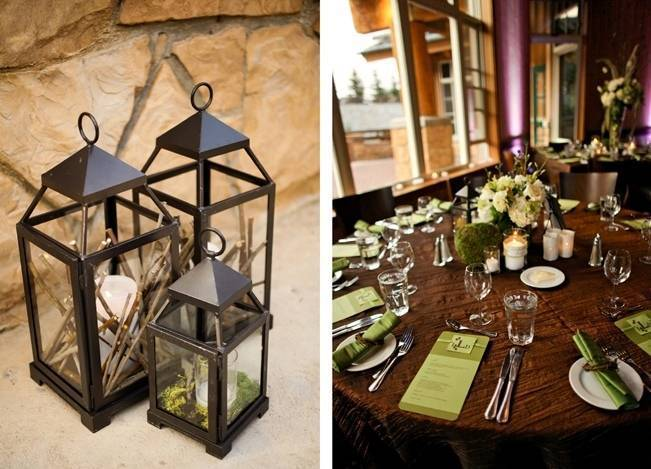Green + Ivory Mountain Wedding at Deer Valley Resort 12