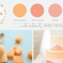 Melon Wedding Palette - Featured Image