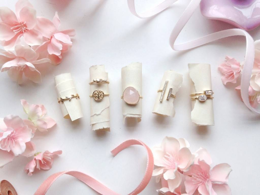 Pretty Stacking and Midi Rings from Bling Jewelry - for Bridesmaids and Fashion