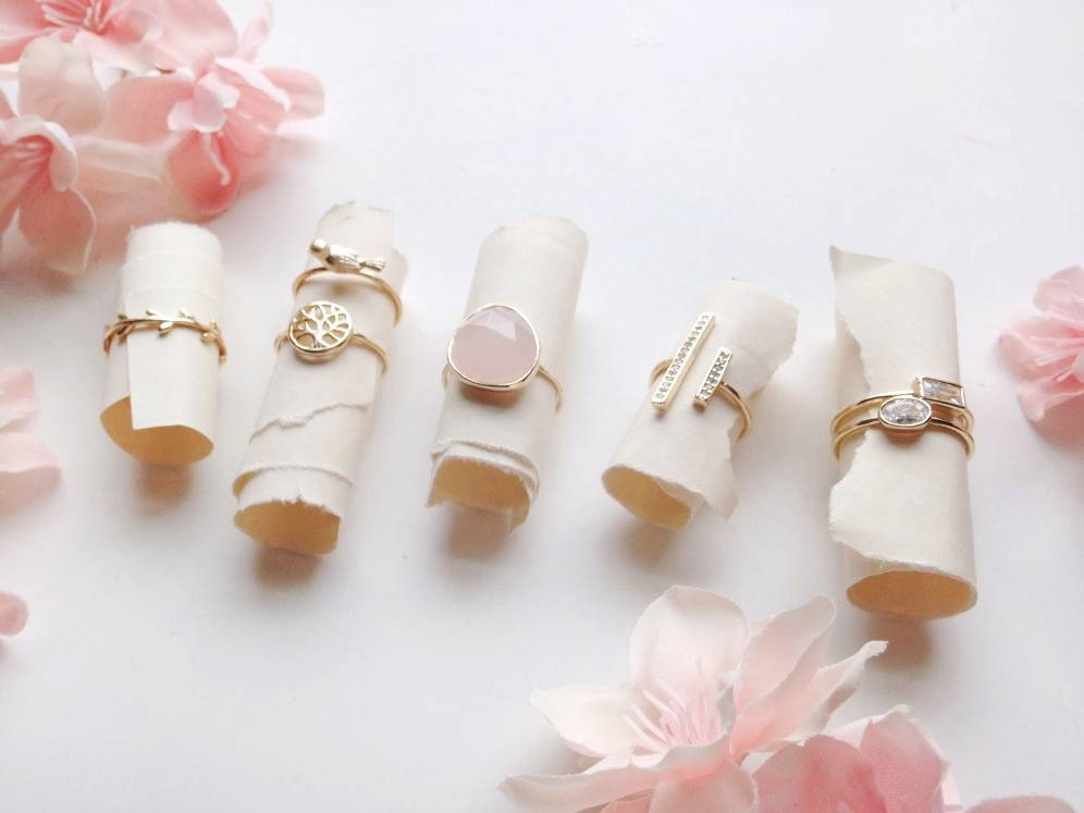 Pretty Stacking and Midi Rings from Bling Jewelry - for Bridesmaids and Fashion 2