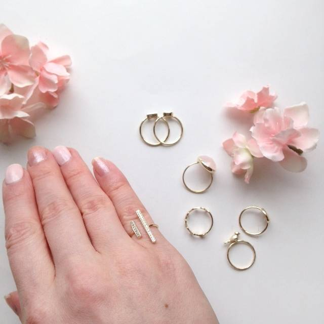 Pretty Stacking and Midi Rings from Bling Jewelry - for Bridesmaids and Fashion 4