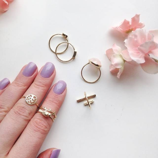 Pretty Stacking and Midi Rings from Bling Jewelry - for Bridesmaids and Fashion 5