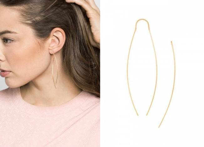 Slim Bow Drops from BaubleBar