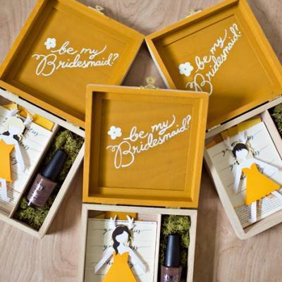 10 Fun 'Will You Be My Bridesmaid' Ideas