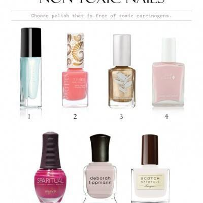 Non-Toxic Nail Polish for Your Big Day