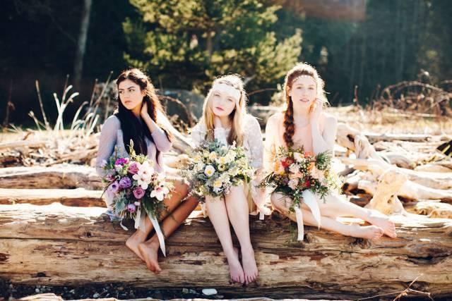 Bohemian Bride Inspiration {Catie Coyle Photography} 1