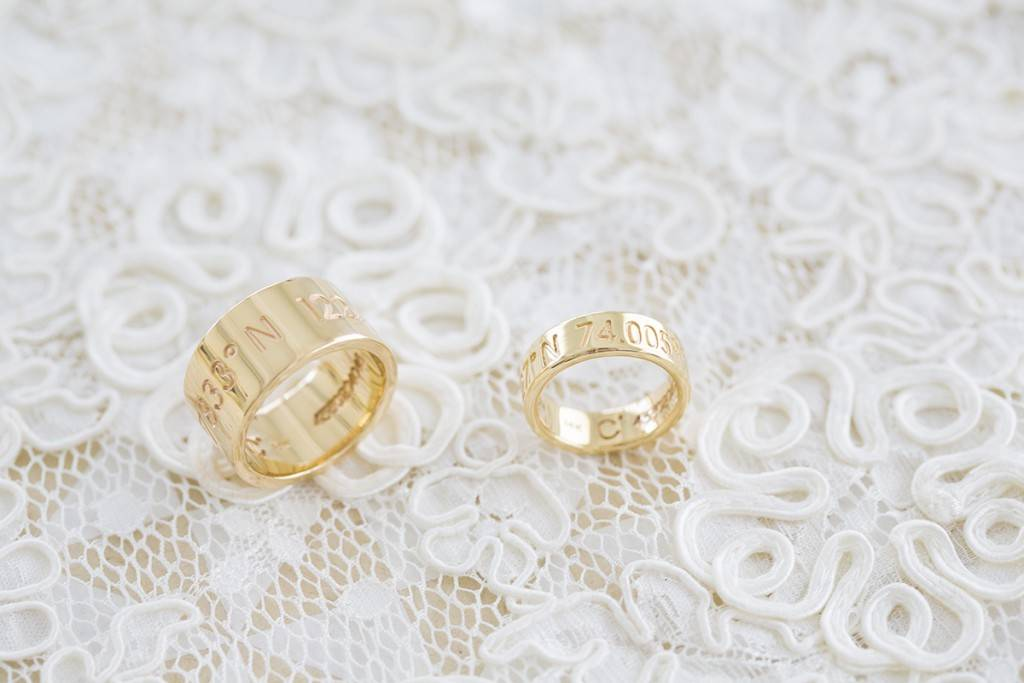 Coordinates Collection wedding bands