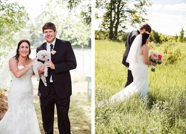 Mint Backyard wedding in Northern Ontario {Caroline Ross Photography} 12