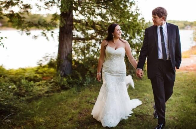 Mint Backyard wedding in Northern Ontario {Caroline Ross Photography} 15