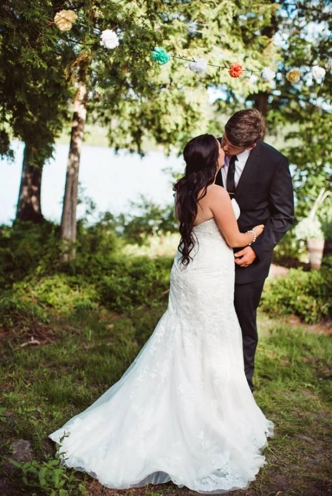 Mint Backyard wedding in Northern Ontario {Caroline Ross Photography} 17