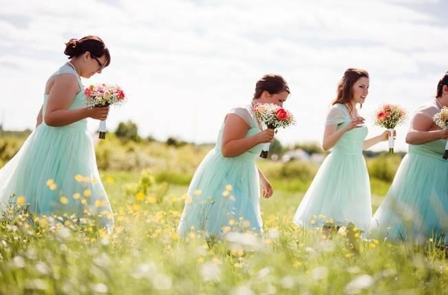 Mint Backyard wedding in Northern Ontario {Caroline Ross Photography} 5