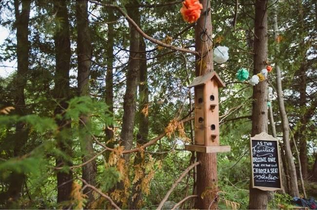 Mint Backyard wedding in Northern Ontario {Caroline Ross Photography} 7