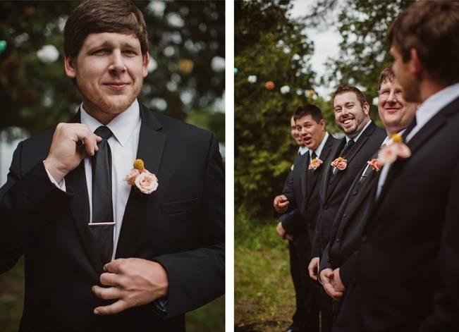 Mint Backyard wedding in Northern Ontario {Caroline Ross Photography} 8
