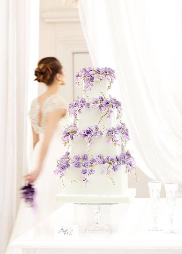 Prettiest Purple Cakes 1 – Peggy Porschen Cakes