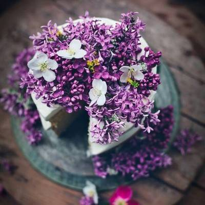 Prettiest Purple Cakes