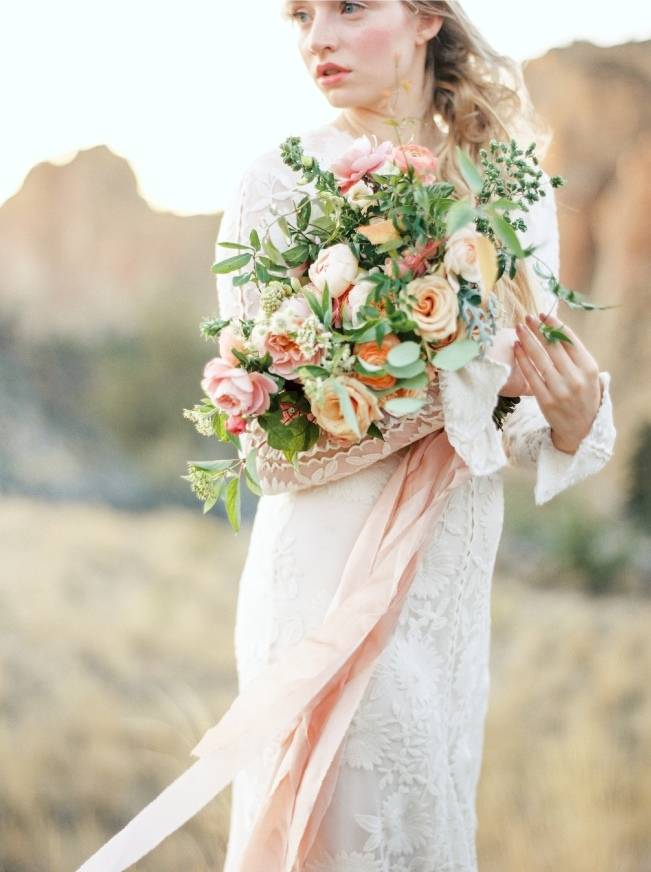 River Bridal Inspiration from Bend, Oregon {Connie Whitlock} 13