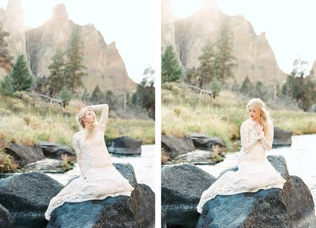 River Bridal Inspiration from Bend, Oregon {Connie Whitlock} 7
