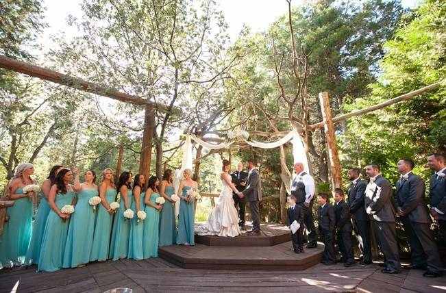 Rustic Woodland Mountain Wedding {Gilmore Studios} 10
