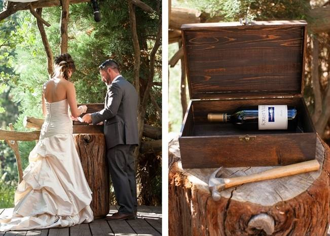 Rustic Woodland Mountain Wedding {Gilmore Studios} 12