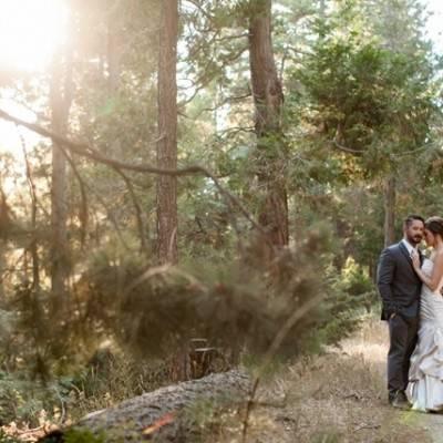 Rustic California Mountain Wedding at Hidden Creek Lodge