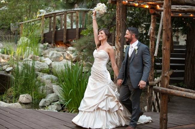 Rustic Woodland Mountain Wedding {Gilmore Studios} 20