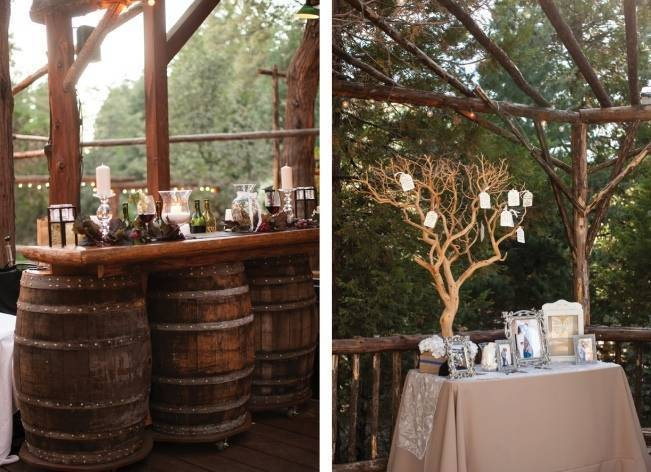 Rustic Woodland Mountain Wedding {Gilmore Studios} 25