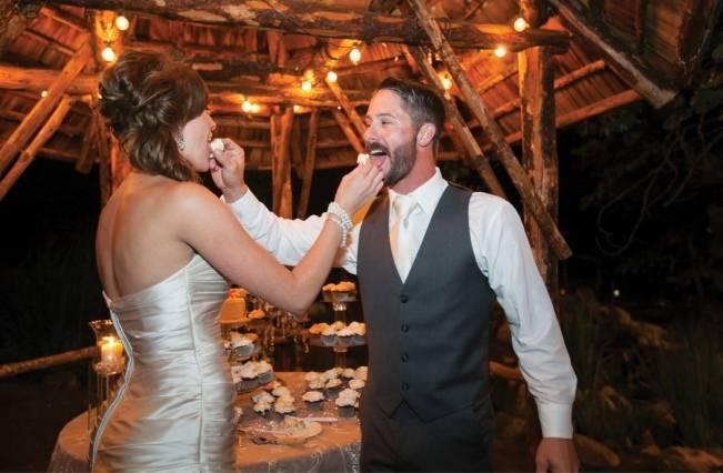 Rustic Woodland Mountain Wedding {Gilmore Studios} 26