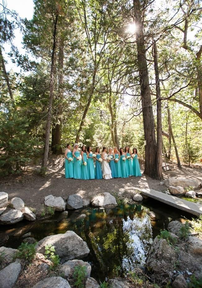 Rustic Woodland Mountain Wedding {Gilmore Studios} 4