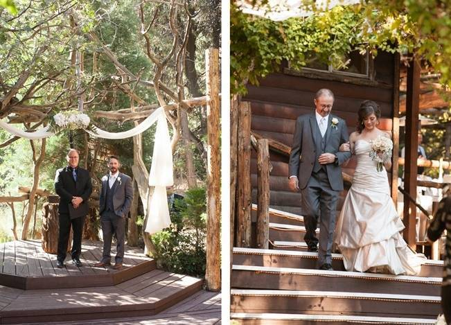 Rustic Woodland Mountain Wedding {Gilmore Studios} 9
