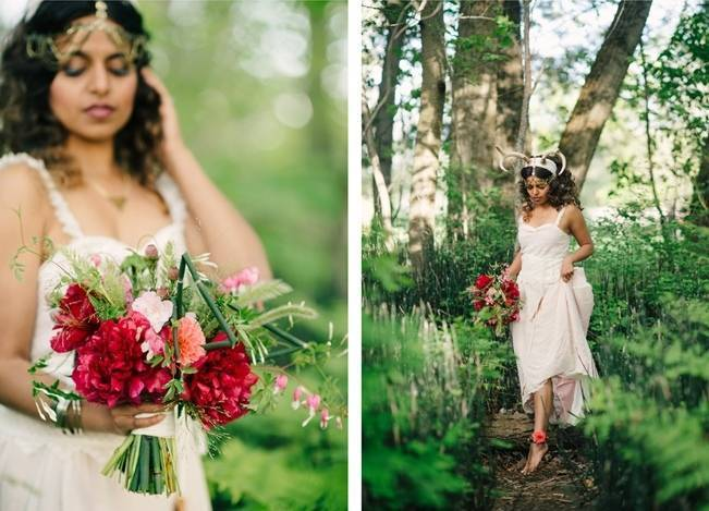 The Poet & The Botanist A Woodland Styled Shoot {Wilton Photography} 12