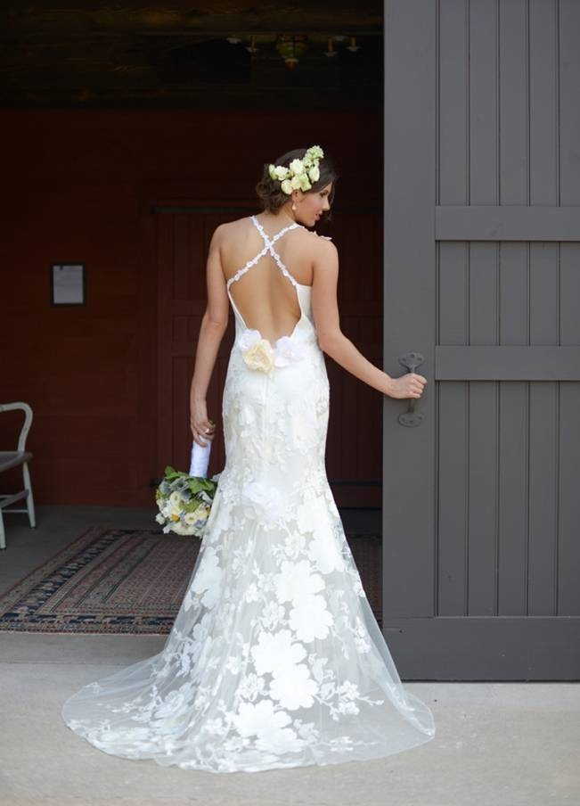 Blue + Yellow Country Chic Bridal Inspiration {Dani Fine Photography} 11