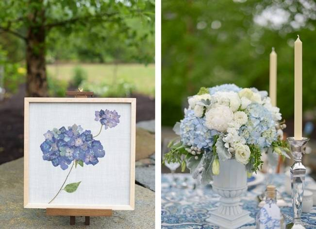Blue + Yellow Country Chic Bridal Inspiration {Dani Fine Photography} 14