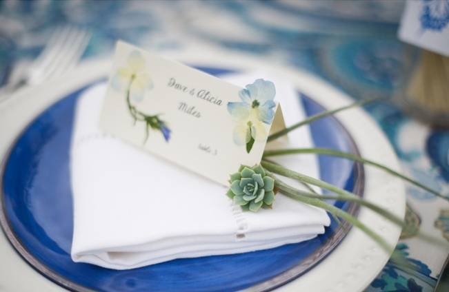 Blue + Yellow Country Chic Bridal Inspiration {Dani Fine Photography} 15
