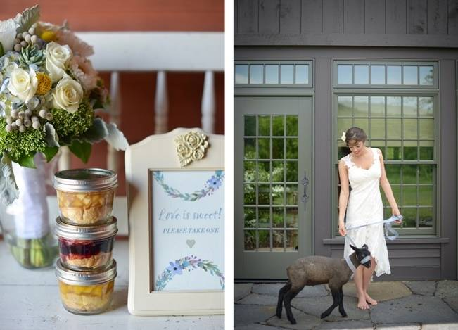 Blue + Yellow Country Chic Bridal Inspiration {Dani Fine Photography} 16