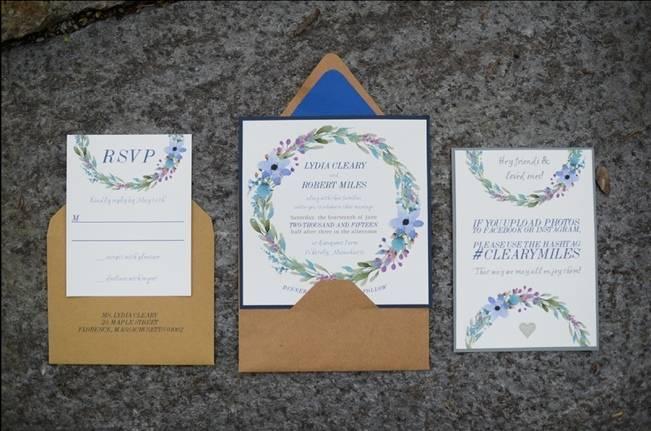 Blue + Yellow Country Chic Bridal Inspiration {Dani Fine Photography} 17