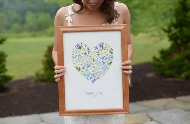 Blue + Yellow Country Chic Bridal Inspiration {Dani Fine Photography} 4