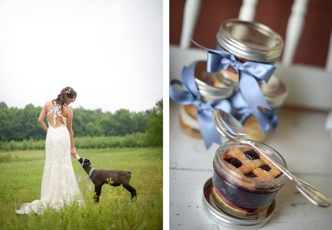 Blue + Yellow Country Chic Bridal Inspiration {Dani Fine Photography} 8