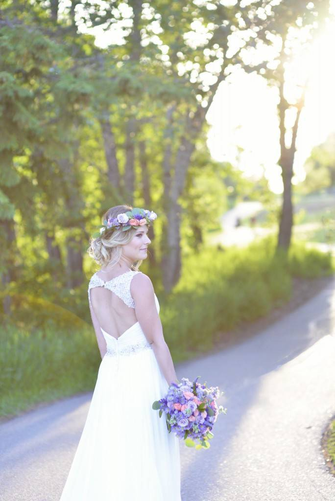 Road to Paradise Rustic Purple Bridal Look {Silver Nest Photography} 11