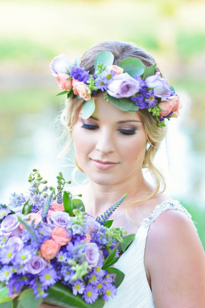 Road to Paradise Rustic Purple Bridal Look {Silver Nest Photography} 4