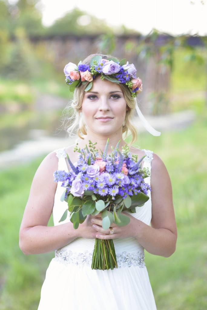 Road to Paradise Rustic Purple Bridal Look {Silver Nest Photography} 5