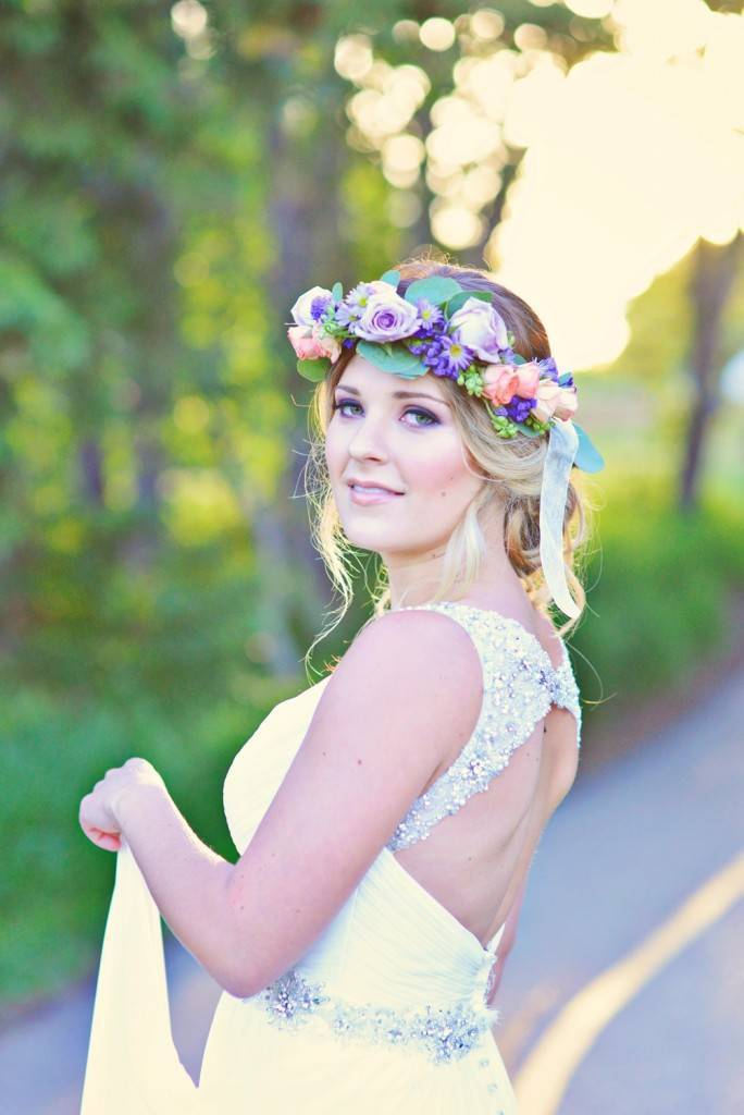 Road to Paradise Rustic Purple Bridal Look {Silver Nest Photography} 9