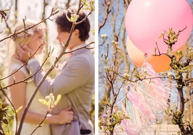 Rustic Peach Blossom Styled Shoot {Wedding Eve} 24