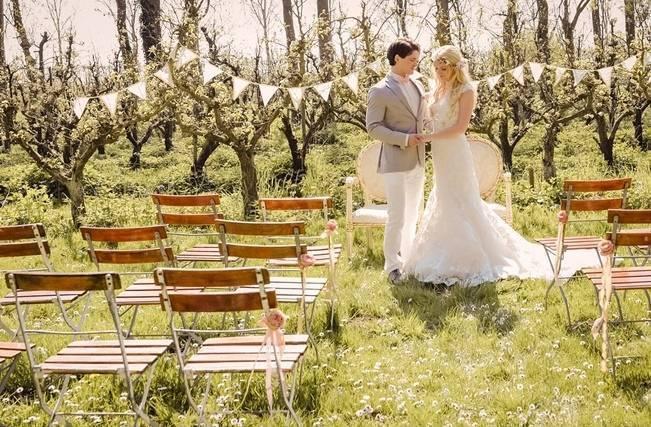 Rustic Peach Blossom Styled Shoot {Wedding Eve} 7