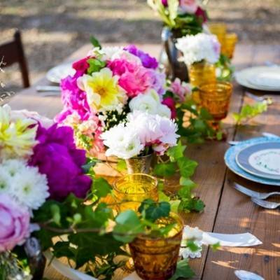 Rustic Sunset Styled Shoot at Vintage Oaks Ranch