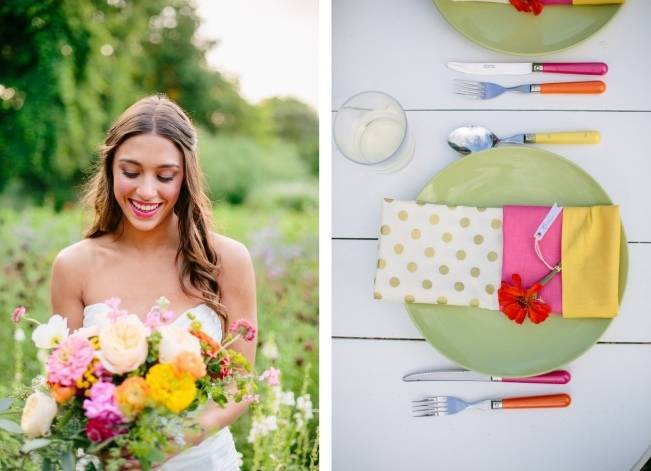 Wildflower Bridal Inspiration at Stray Cat Flower Farm {The Light + Color} 12