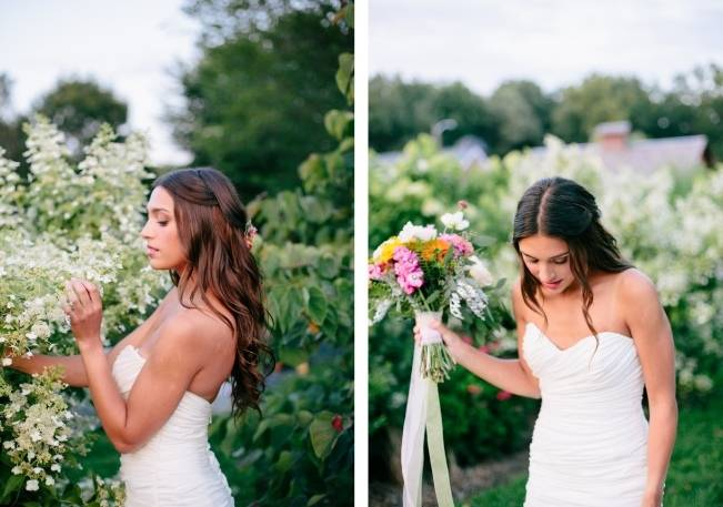 Wildflower Bridal Inspiration at Stray Cat Flower Farm {The Light + Color} 14