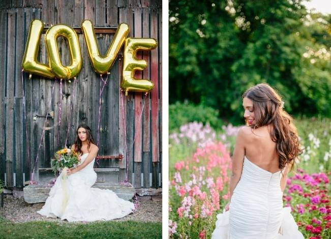 Wildflower Bridal Inspiration at Stray Cat Flower Farm {The Light + Color} 16