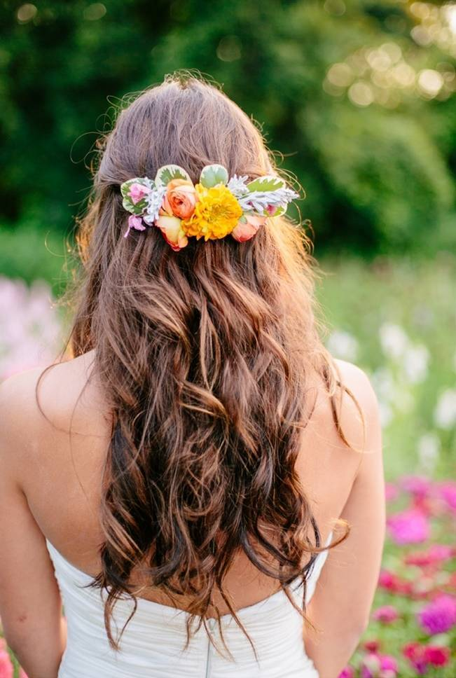 Wildflower Bridal Inspiration at Stray Cat Flower Farm {The Light + Color} 5